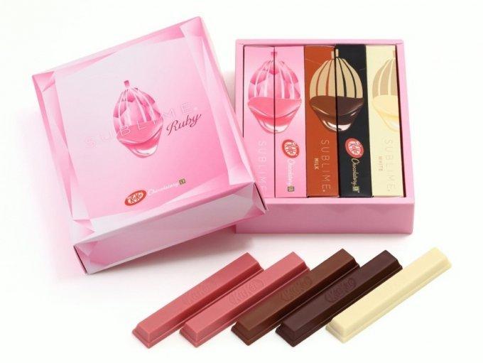ルビー色に輝く魅惑の「ルビーチョコレート」!第4のチョコレートとは?