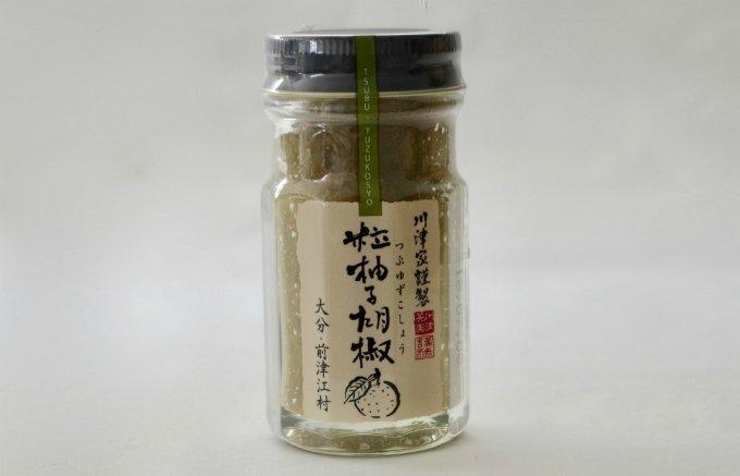ガツンと強い香りと辛み!大分『川津食品』の粒柚子胡椒