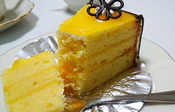 このレモンケーキは、横浜元町・レトロ洋菓子店「喜久家」のもうひとつのロングセラー