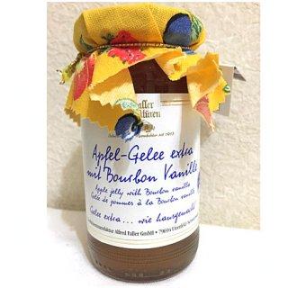 ドイツの「黒い森」からやってきたバニラのさやが一本まるごと入ったアップルジャム