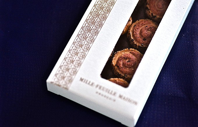 【おしゃれプチギフト】ミルフィユ メゾン フランセのクッキーで幸せのお裾分け