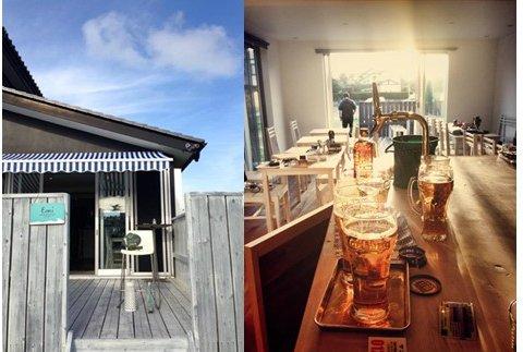 海辺のカフェEmi cafe & restaurantのシナモンロール
