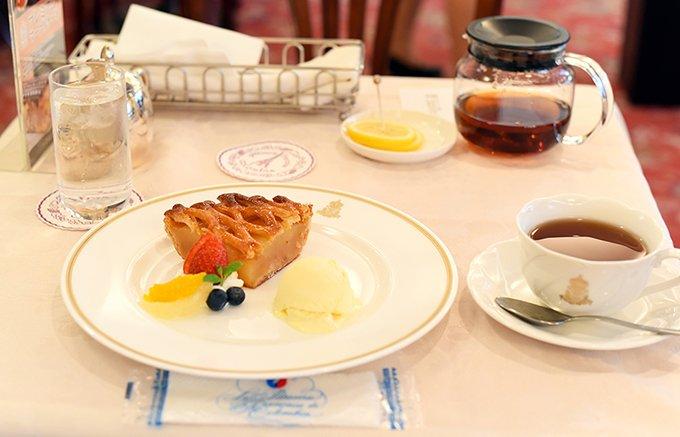 昭和、平成と時代が変わっても、長く愛され続けるアップルパイ。