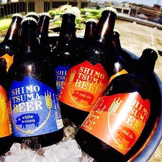 初夏のクラフトビールは「しもつまビール」で決まり!琥珀色のクリアな本格派