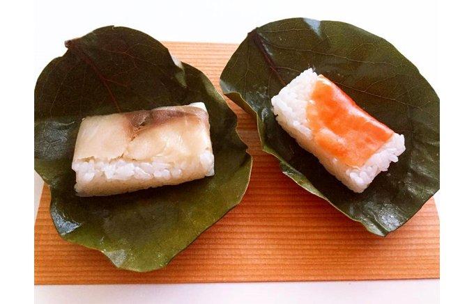 一度食べたら忘れられない 吉野山「やっこの柿の葉寿司」