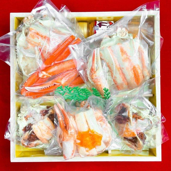 【売切御免】史上最強のインパクト!港町から直接届く《蟹専門店》渾身の宝箱おせち!
