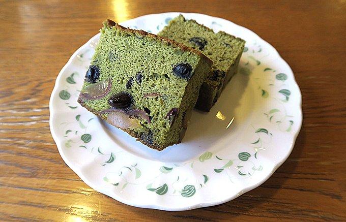 【季節限定】300年以上続く老舗「松翁軒」の渋皮栗寄せの抹茶カステラ
