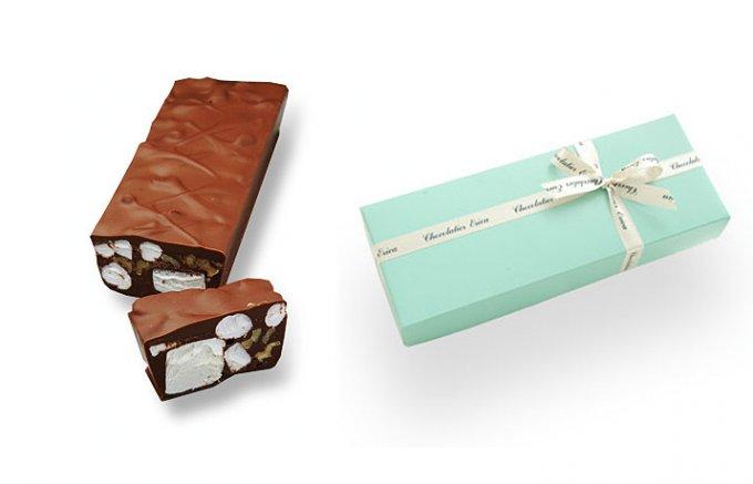 食感がたまらない!マシュマロとくるみがミルクチョコレートに包まれた「マ・ボンヌ」