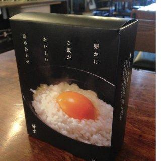 創業230年超えの大阪・神宗の「卵かけご飯がおいしい詰め合せ」