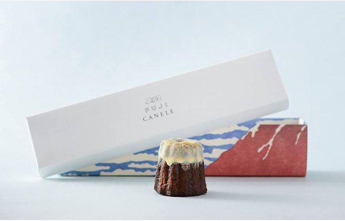 あのフレンチの名店発!酒粕・焼酎を使った希少な焼き菓子「富士山カヌレ」