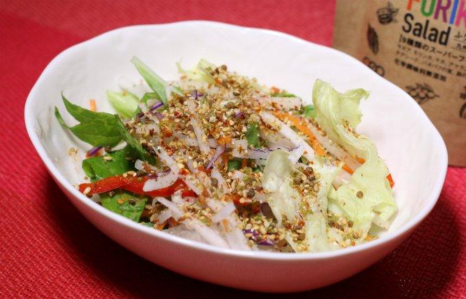 サラダにかけるふりかけって!?「FURIKAKE Salad」が気になる