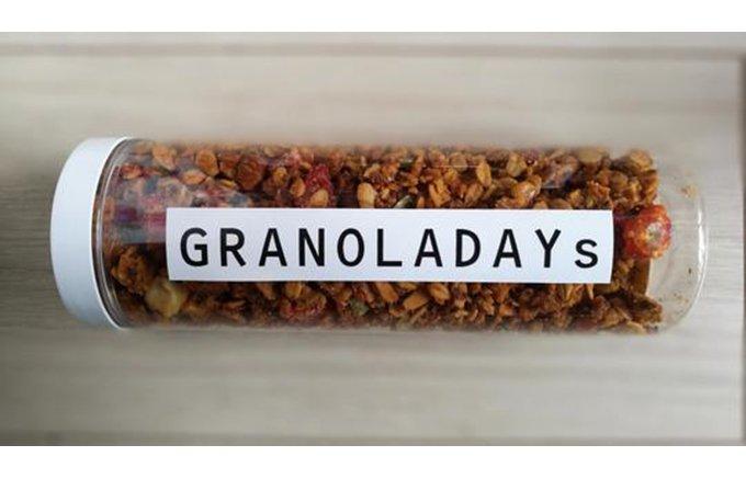 こだわりの食材で作った身体に良い唯一無二!GRANOLADAYsの「グラノーラ」