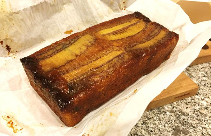 とろけるようなバナナの風味とキャラメルのほろ苦さが絶妙!「キャラメルバナーヌ」