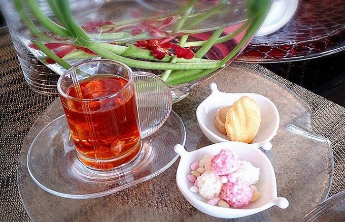 【限定】バレンタイン後のお楽しみ!サクラ・フレーバーのお茶