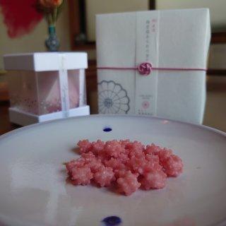 『緑寿庵清水』の気品ある伝統菓子「金平糖」はシャンパーニュとともに