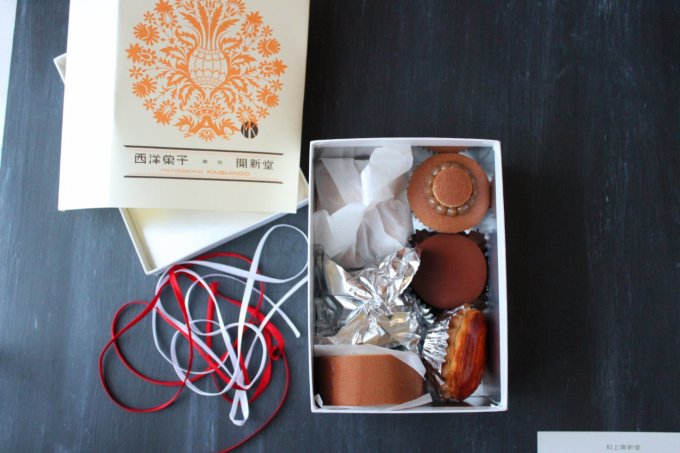 手に入らないクッキーで有名な東京半蔵門の村上開新堂の生菓子