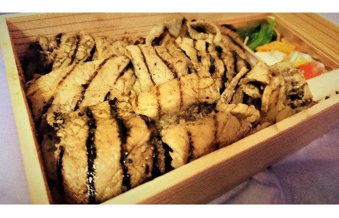 肉の美味しい状態を熟知した岐阜市の横山精肉店「ボーノポーク生姜焼弁当」