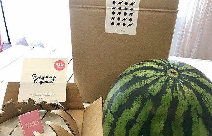 激レアな熊本・のはら農研塾の「減農薬スイカ」
