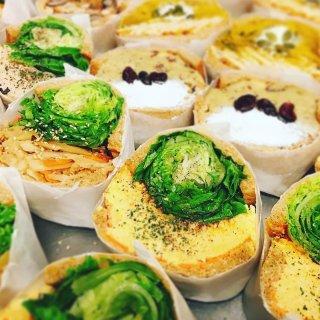 ずるい程のインパクト! 見目麗しいPOTASTAの野菜サンド!