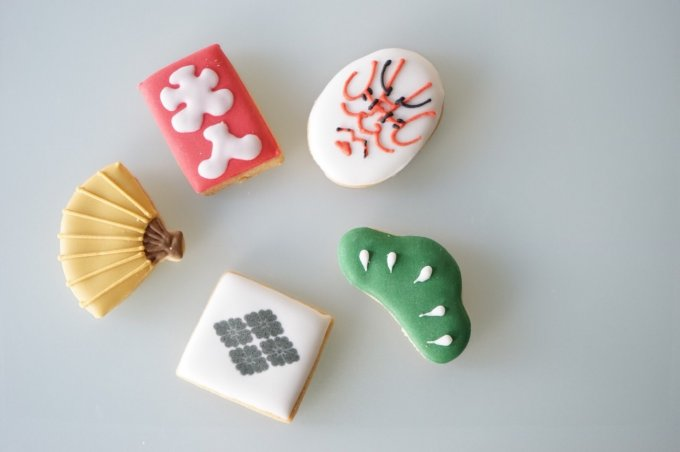 歌舞伎モチーフがクッキーに!歌舞伎座限定販売「高麗屋三代の襲名の記念菓子」