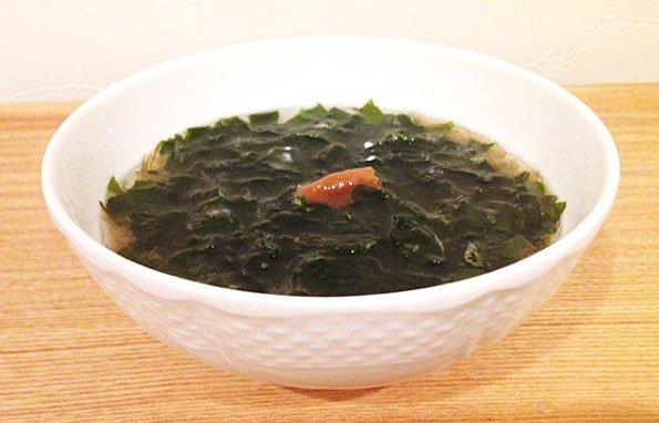 化学調味料不使用の「いその、わかめ」スープで、美味しく楽ちんダイエット!
