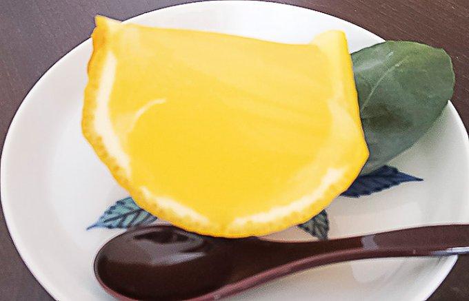 夏みかんだから実現の味、老舗老松の想い、ひんやり夏柑糖