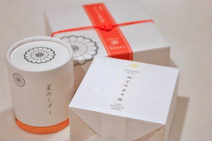 """京都の老舗『緑壽庵清水』の""""金平糖""""を銀座で!"""