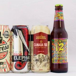 個性豊かなカナダのクラフトビールを飲み比べ!