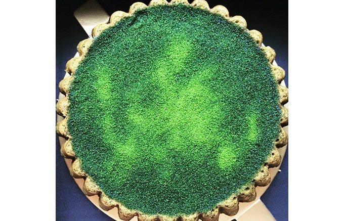 感動!濃厚な抹茶の味わい竹翠園の「T cake 翆(みどり)の宝物」