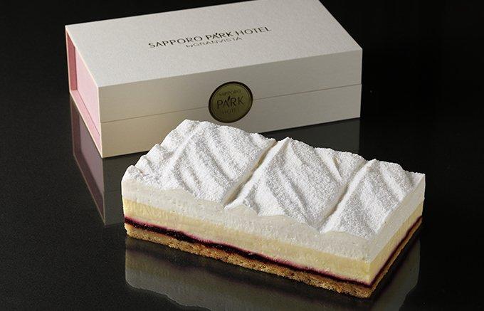 北の大地を連想させる札幌パークホテルのダブルチーズケーキ