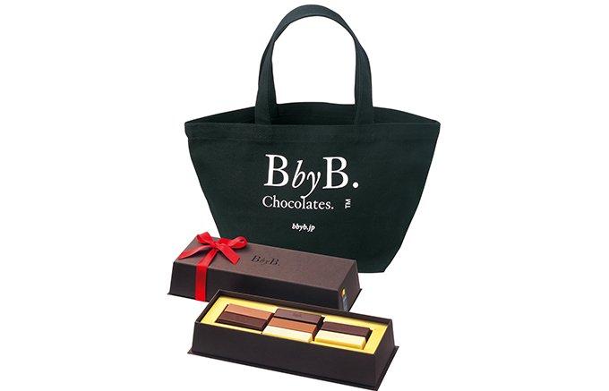 期間限定!銀座で出会ったチョコ専門店「BbyB.GINZA」のトートバッグセット