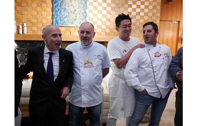 「ピッツァはイタリアと日本を結ぶ」。日伊の職人によるピッツァの競演