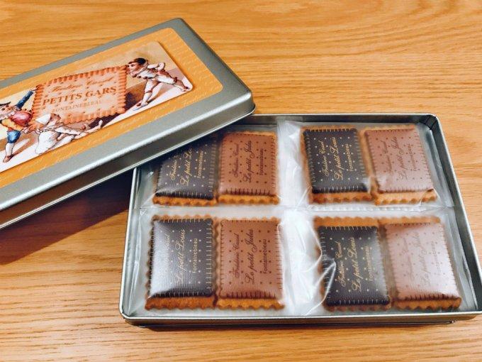 チョコレートが最高の『フレデリック・カッセル』の「ボワット・ア・ビスキュイ」