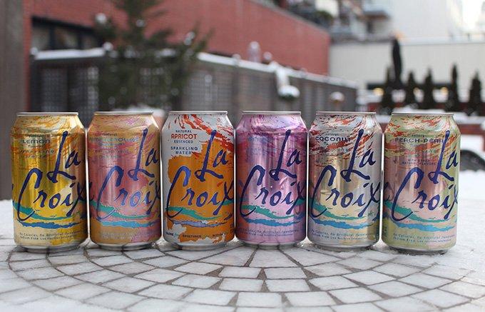 NYの新習慣Drynuaryに欠かせないフレーバー付き炭酸水「La Croix」
