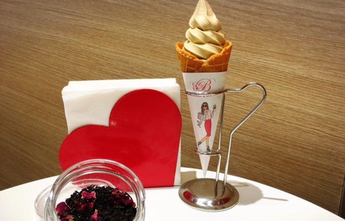 世界初!「ベッジュマン&バートン」のソフトクリームが銀座に登場!