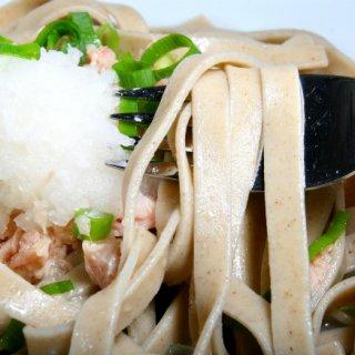 福井で出会った!そばとパスタの融合「Echi Zen Soba Pasta」