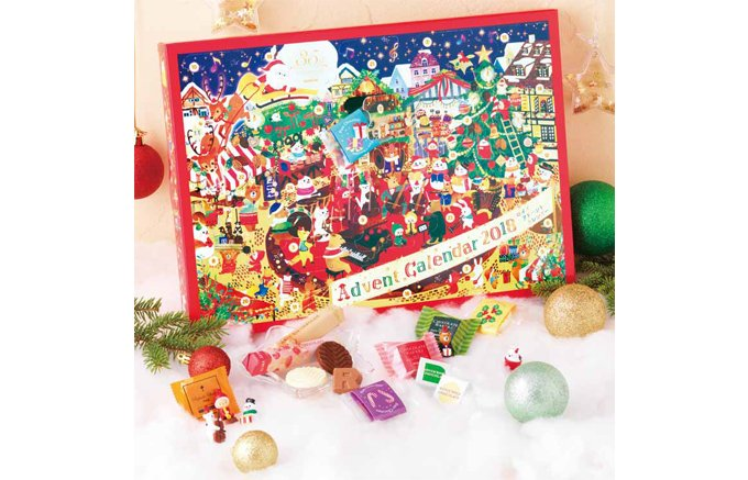 クリスマスが待ち遠しい!『ロイズ(ROYCE')』のアドベントカレンダー