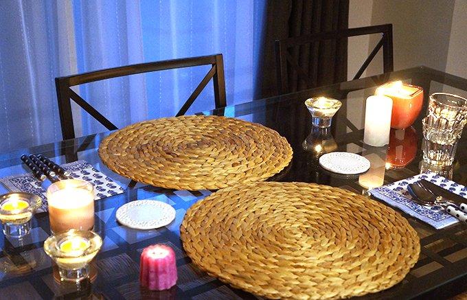 部屋の雰囲気を高めてくれるIKEAのテーブルキャンドル