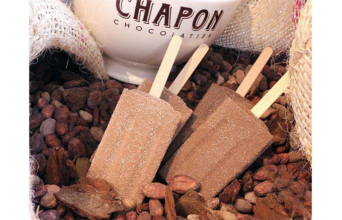 元バッキンガム宮殿のお姫様専属のアイス職人が作る「シャポン」のバーアイス